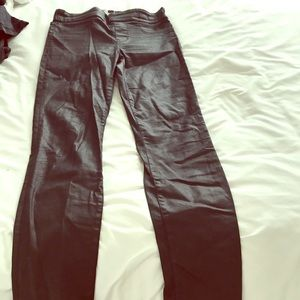 Coated leggings from Madewell